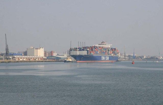Southampton Western Docks