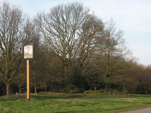 Buckhurst Hill: village sign