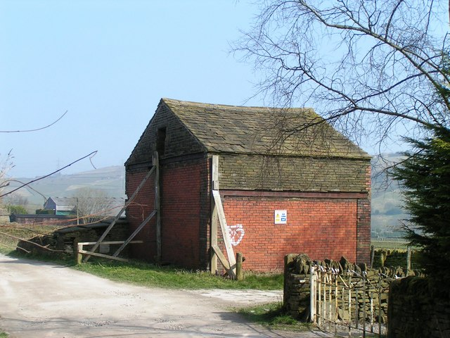 Derelict Building South of School Lane
