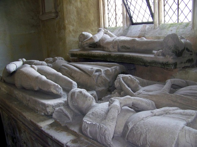 Effigies, The Church of All Saints, Nunney