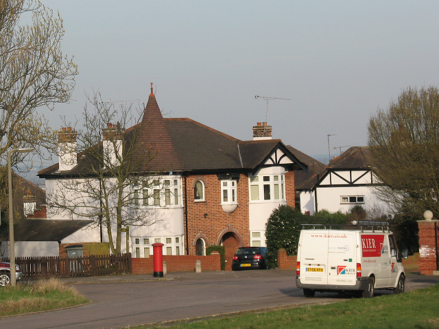 House with turret, The Drive, Buckhurst Hill