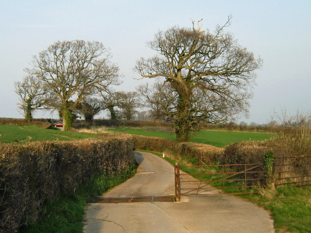 Entrance to Rexworthy Farm