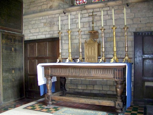 Interior, The Church of All Saints, Nunney