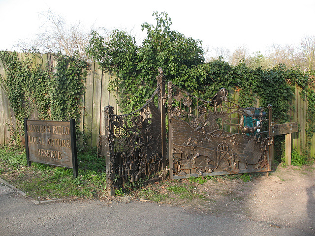 Entrance to Linder's Field