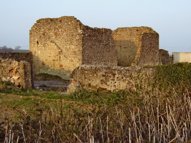 Ruined house near Four Forks