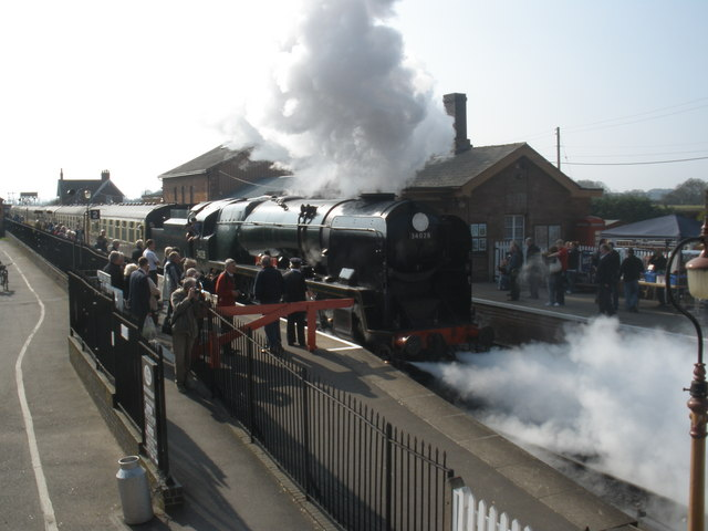 Spring steam gala, on the West Somerset Railway
