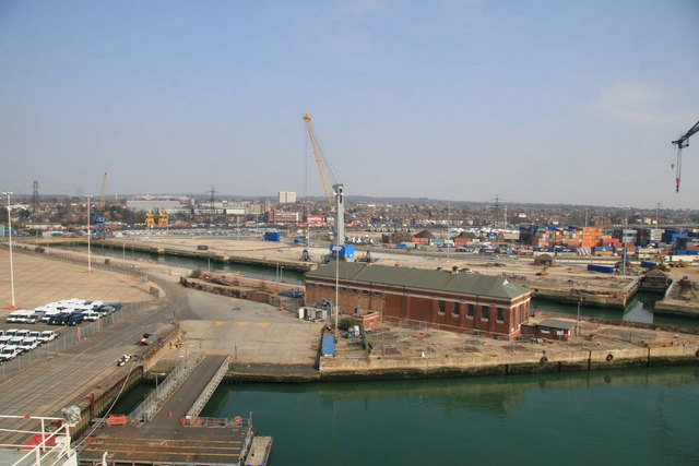 King George V dry dock, Southampton
