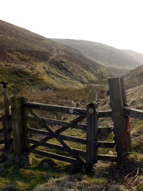 Bridleway from Old Rockland to Clennell