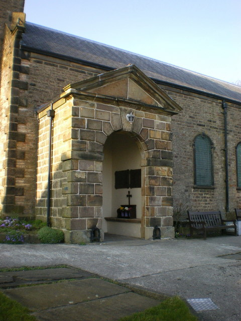 The Parish Church of St Mary, Newchurch-in-Pendle, Porch