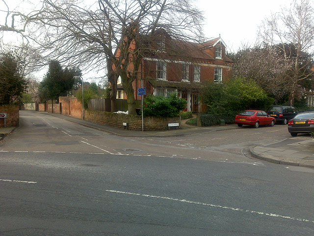 Junction of Dovecote Lane, West End and Grange Ave