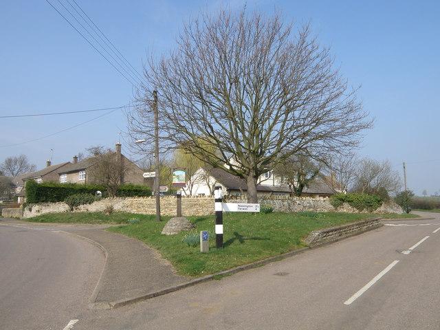 Woodnewton road junction