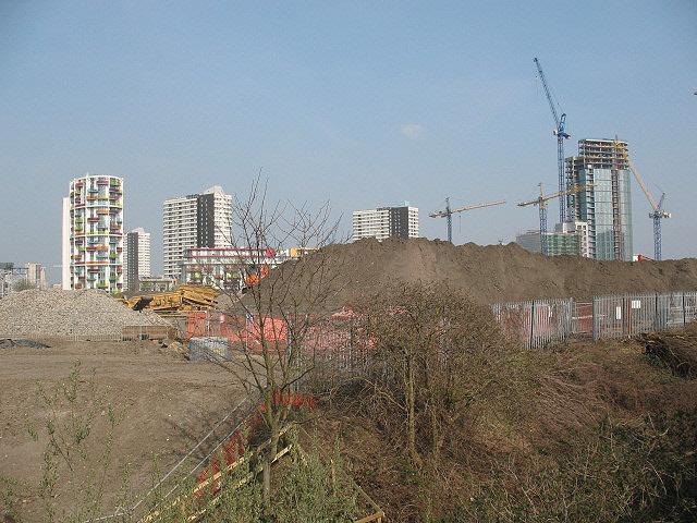 Modern high-rise in Stratford