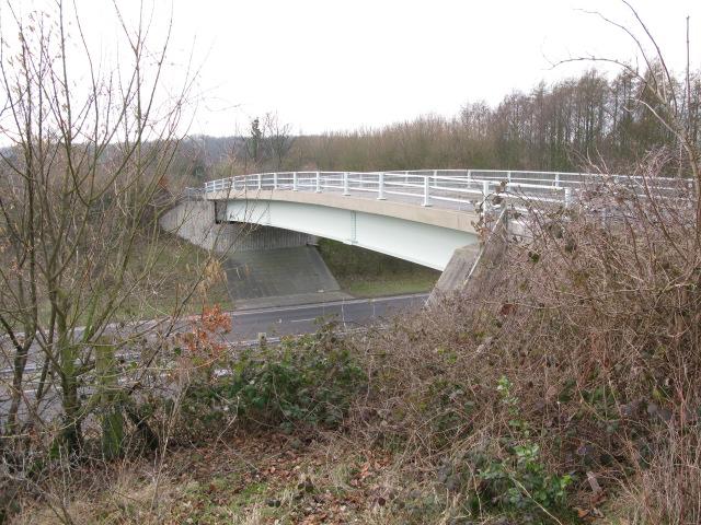 Bridge over the A256 at Tilmanstone