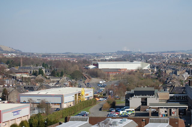 A view of Dunfermline