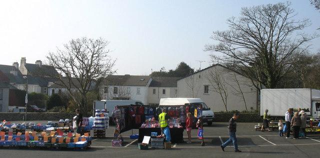 The Amlwch Friday Street Market