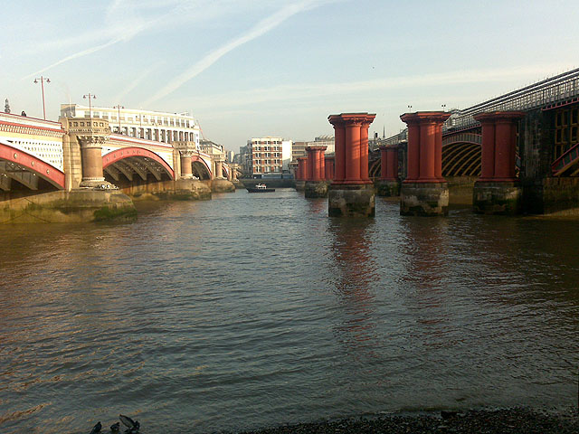 The Blackfriars Bridges