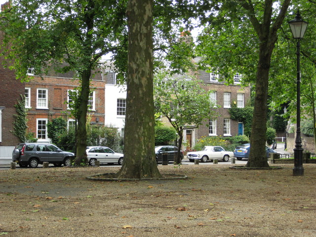 Georgian Houses, Pond Square, Highgate Village