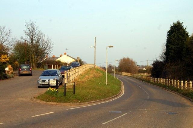 Site of Somersham station
