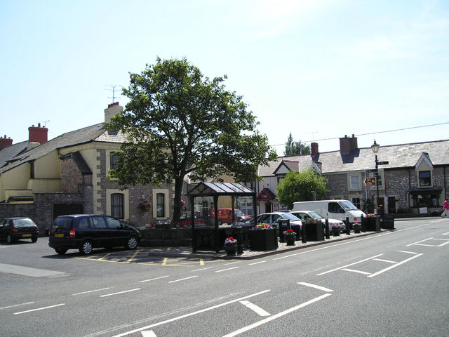 The Town Square Caerwys
