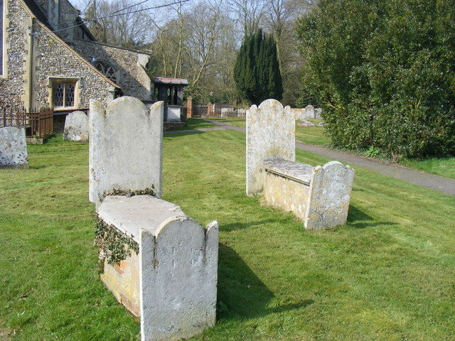 Grave Stones at All Saints Church