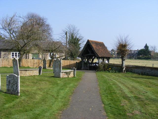 Churchyard and Gate