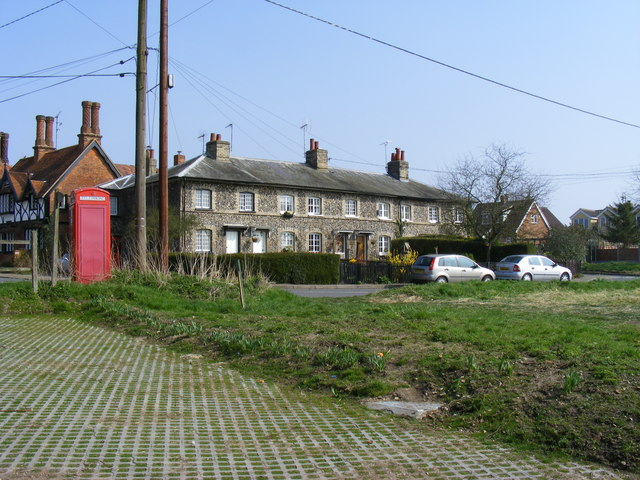 Phone Box and Cottages