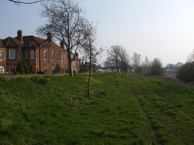 River Bank and Airmyn village