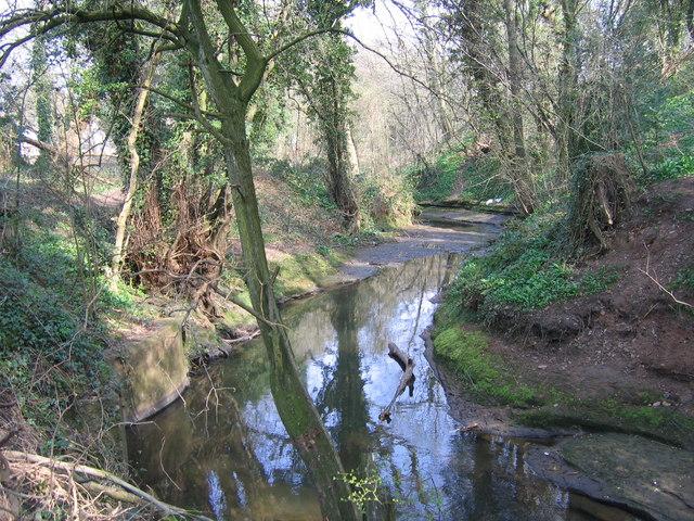 River Rea, Off Mill Lane, Northfield.