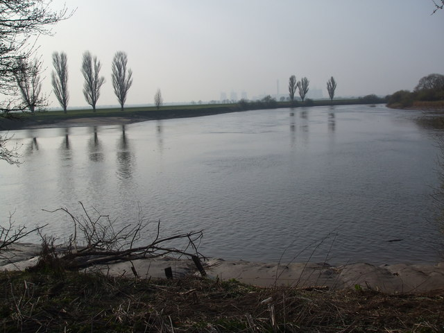 Confluence of the rivers Aire and Ouse