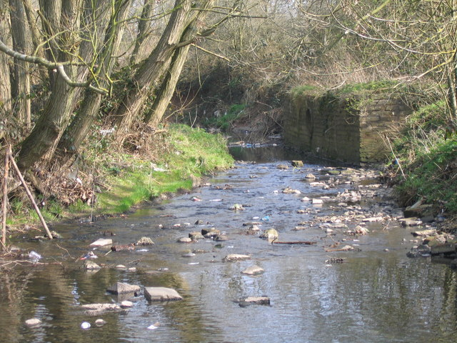 River Rea From The Ford, Mill Walk, Northfield.
