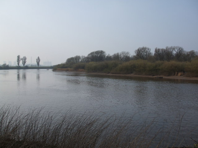 The River Ouse and Asselby island
