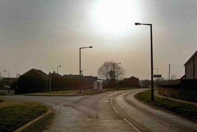 Stoops Lane bus stop Bessacarr