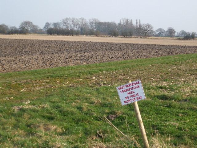 Grey Partridge Conservation Area