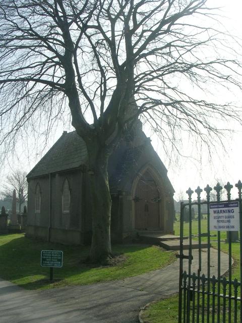 Cemetery Chapel - Womersley Road