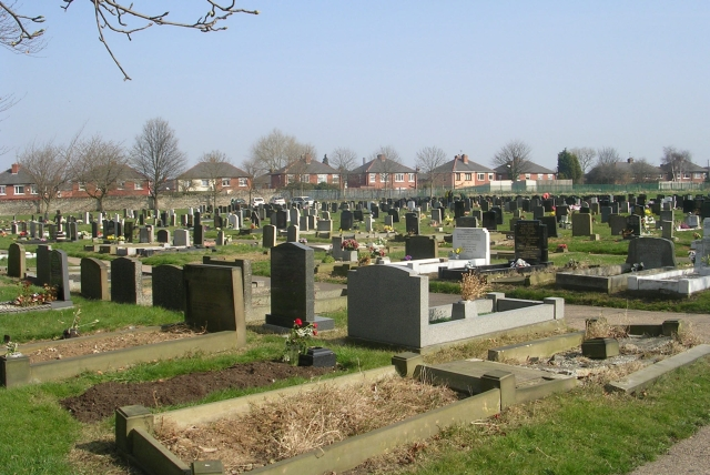 Knottingley Cemetery - Womersley Road