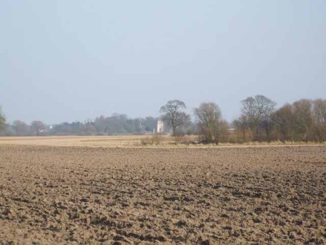 Fields towards Aughton
