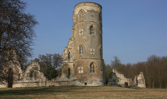 Ruined building, Wimpole