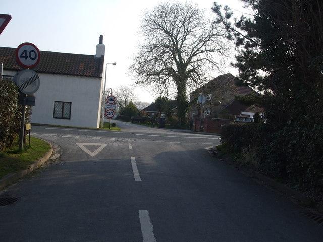 North Duffield Crossroads