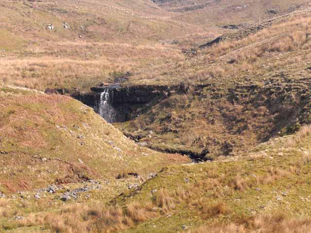 Waterfall on Stockdale Beck