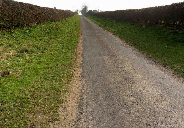 It's uphill to Everton (Notts not Merseyside)
