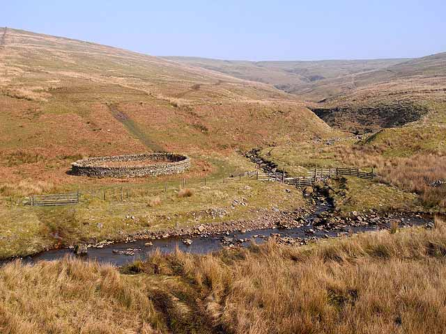 Sheepfold on Croglin Water