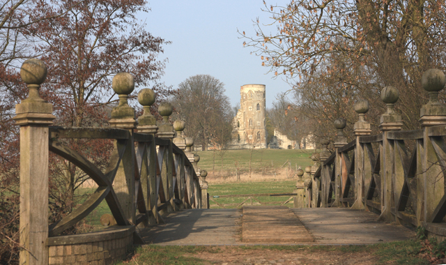 The Chinese Bridge, Wimpole Hall Estate