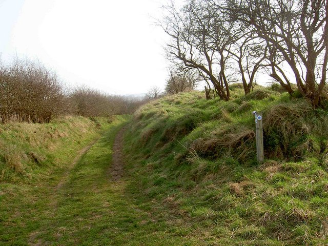 The end of Broomhill Lane near Everton