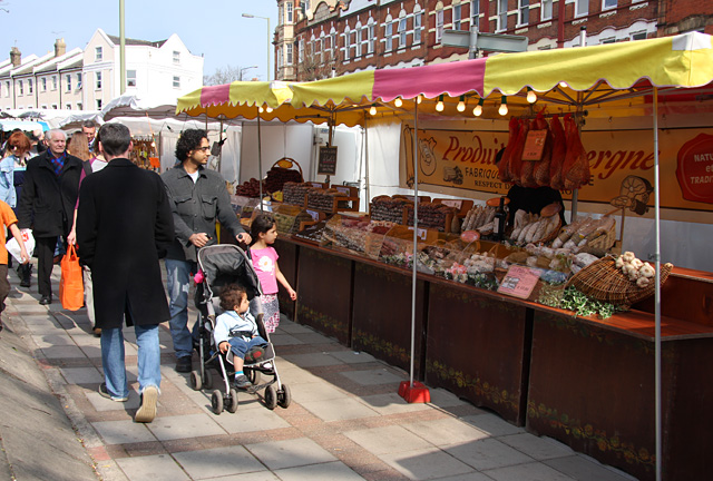 French Market, East Finchley