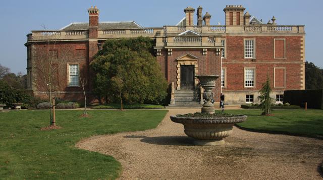 West side, Wimpole Hall