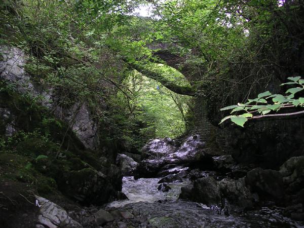 Old Pen cae drain bridge