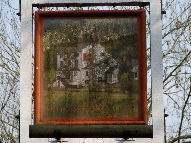 Woodbridge Inn pub sign