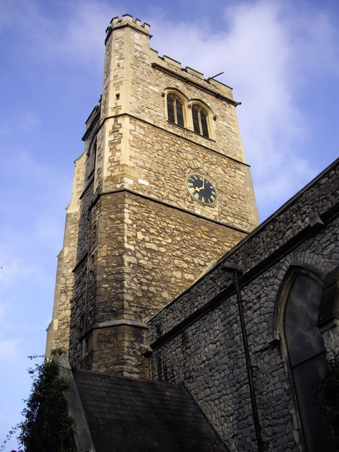 St Mary-at-Lambeth Parish Church Tower