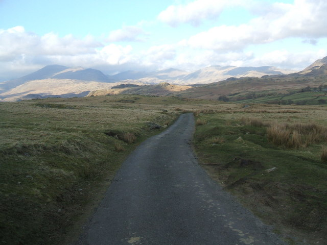The road to Birkerthwaite