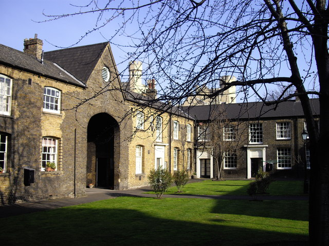 Houses in Grounds of Lambeth Palace